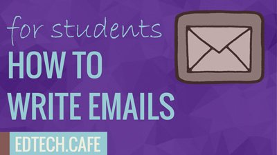 how to write a good email to a teacher