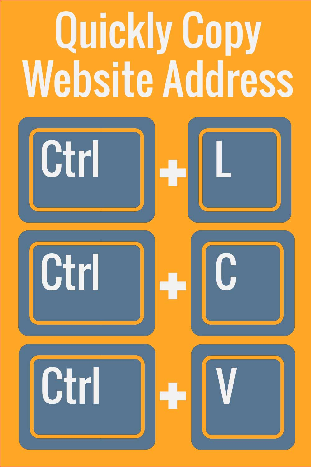 Quickly Copy Web Address